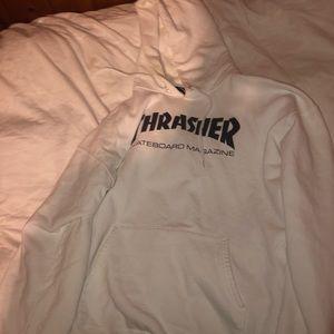 White Thrasher Hoodie
